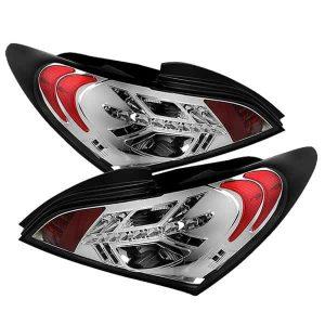 10-12 Hyundai Genesis LED Tail Lights – Chrome