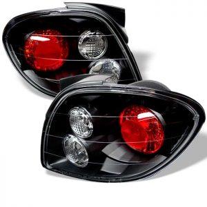 00-02 Hyundai Tiburon Altezza Tail Lights – Black
