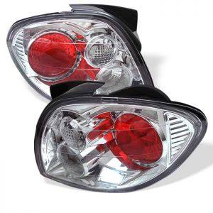 00-02 Hyundai Tiburon Altezza Tail Lights – Chrome