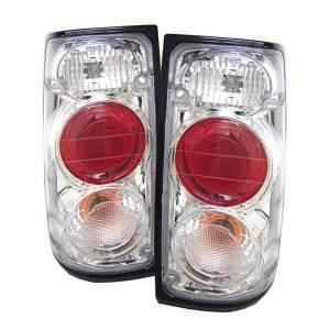 91-94 Isuzu Rodeo Altezza Tail Lights – Chrome
