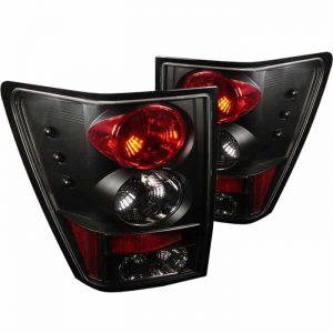 05-07 Jeep Grand Cherokee Tail Lights – Black