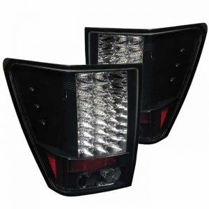 05-07 Jeep Grand Cherokee LED Tail Lights – Black