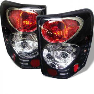 99-04 Jeep Grand Cherokee Altezza Tail Lights – Black