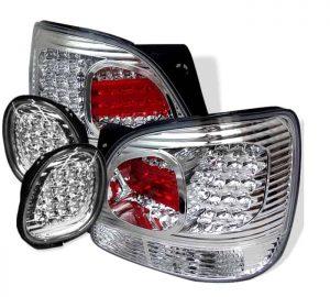 98-05 Lexus GS300, GS400 LED Tail Lights – Chrome
