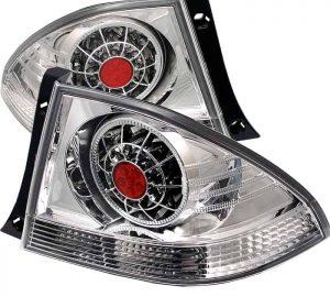 01-03 Lexus IS300 LED Tail Lights – Chrome