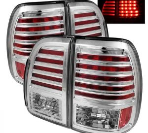 98-02 Lexus LX470 LED Tail Lights – Chrome