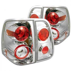03-07 Lincoln Navigator Altezza Tail Lights – Chrome