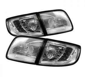 03-08 Mazda 3 4DR Sedan ( Non Hatchback ) LED Tail Lights – Chrome