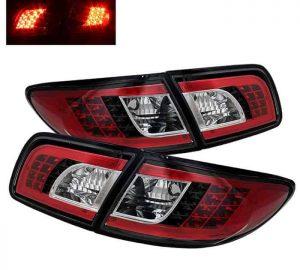 03-05 Mazda 6 4DR/5DR LED Tail Lights – Black