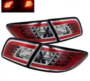 03-05 Mazda 6 4DR/5DR LED Tail Lights – Chrome