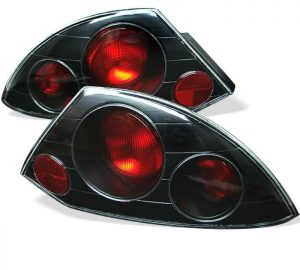 00-05 Mitsubishi Eclipse Altezza Tail Lights – Black