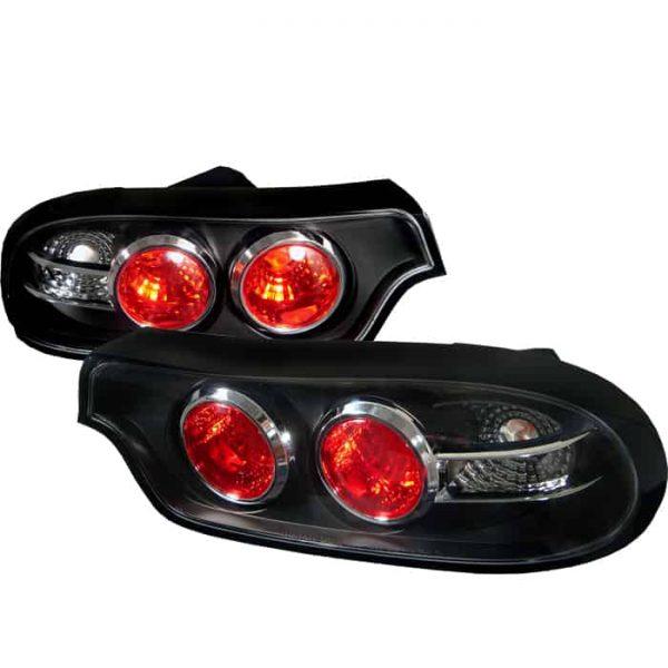 93-01 Mazda RX7 Altezza Tail Lights – Black
