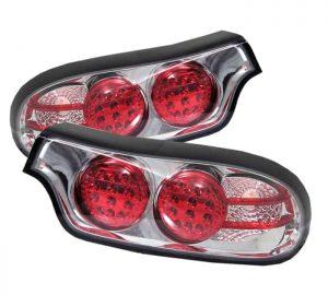 93-01 Mazda RX7 LED Tail Lights – Chrome