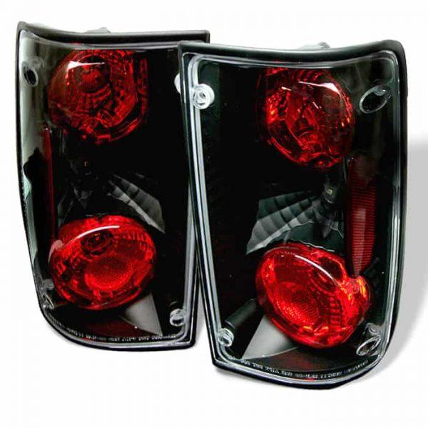 89-95 Toyota Pick Up Altezza Tail Lights – Black