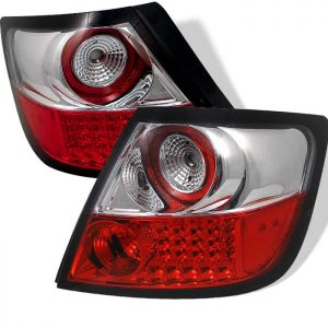 04-08 Scion TC LED Tail Lights – Red Clear