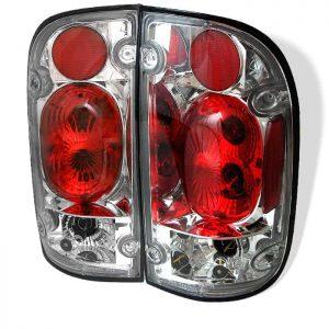 01-04 Toyota Tacoma Altezza Tail Lights – Chrome