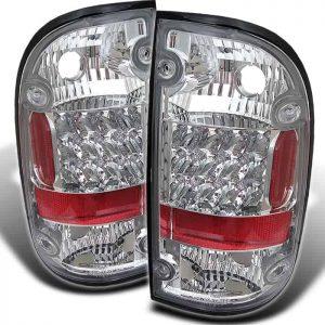 01-03 Toyota Tacoma LED Tail Lights – Chrome