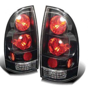 05-07 Toyota Tacoma Altezza Tail Lights – Black