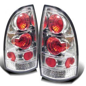 05-07 Toyota Tacoma Altezza Tail Lights – Chrome