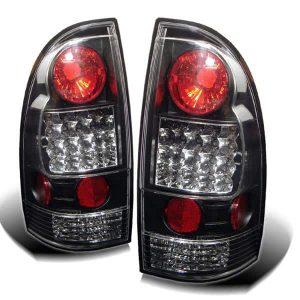 05-07 Toyota Tacoma LED Altezza Tail Lights – Black
