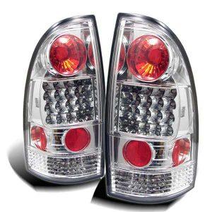 05-07 Toyota Tacoma LED Altezza Tail Lights – Chrome