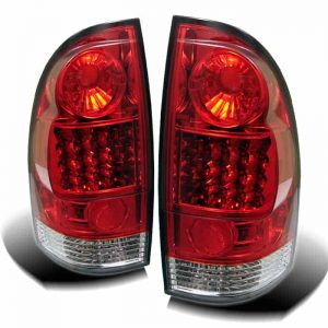 05-07 Toyota Tacoma LED Altezza Tail Lights – Red Clear