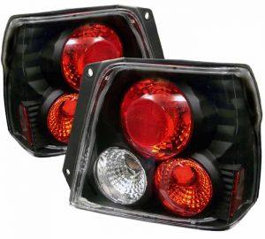 95-00 Toyota Tercel Altezza Tail Lights – Black