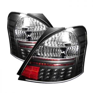 06-08 Toyota Yaris 2DR LED Altezza Tail Lights – Black