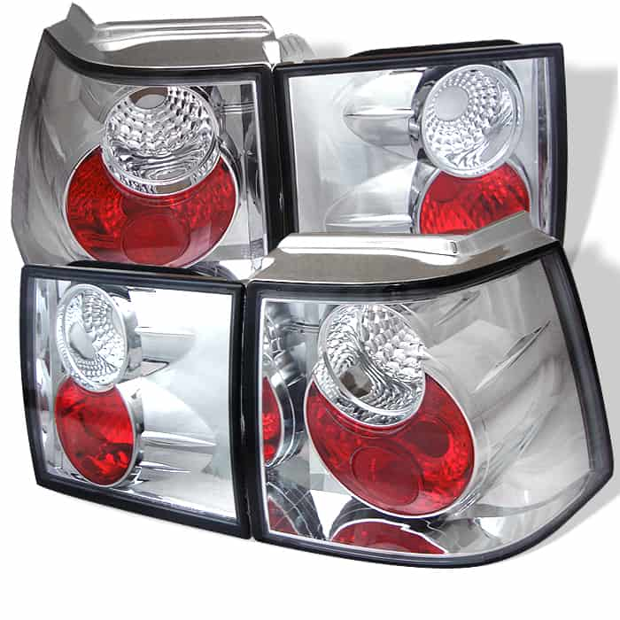 95-98 Volkswagen Corrado Altezza Tail Lights - Chrome