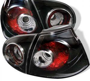 05-06 Volkswagen Golf Altezza Tail Lights – Black