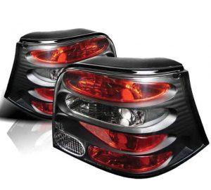 99-04 Volkswagen Golf Altezza Tail Lights – Black