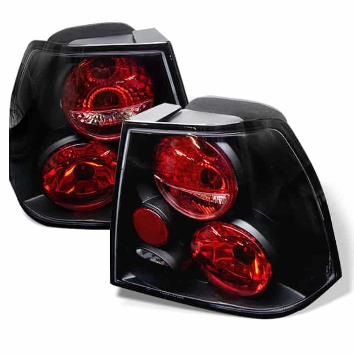 99-04 Volkswagen Jetta Altezza Tail Lights - Black