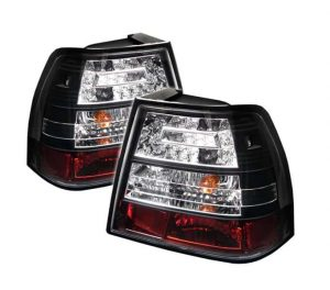 99-04 Volkswagen Jetta LED Altezza Tail Lights – Black