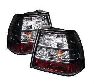 99-04 Volkswagen Jetta LED Altezza Tail Lights – Black