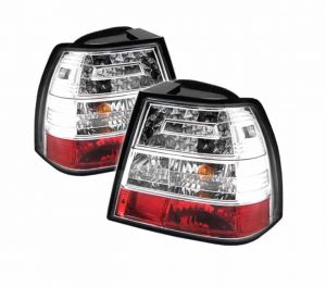 99-04 Volkswagen Jetta LED Altezza Tail Lights – Chrome