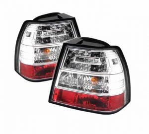 99-04 Volkswagen Jetta LED Altezza Tail Lights – Chrome