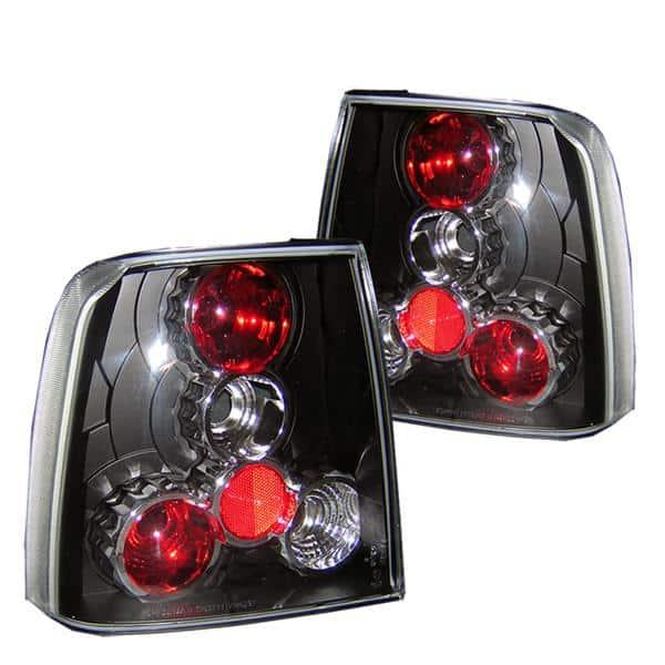 97-00 Volkswagen Passat Altezza Tail Lights - Black