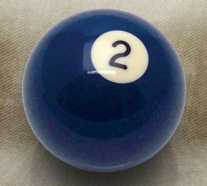 2 Ball Billiard Pool Custom Shift Knob