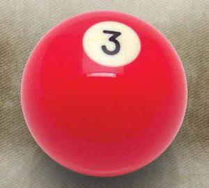 3 Ball Billiard Pool Custom Shift Knob