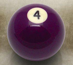4 Ball Billiard Pool Custom Shift Knob