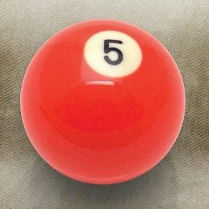 5 Ball Billiard Pool Custom Shift Knob