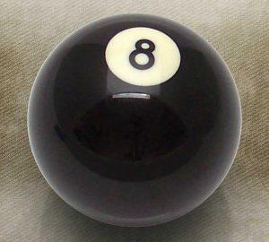8 Ball Billiard Pool Custom Shift Knob