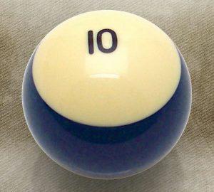 10 Ball Billiard Pool Custom Shift Knob
