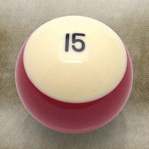 15 Ball Billiard Pool Custom Shift Knob