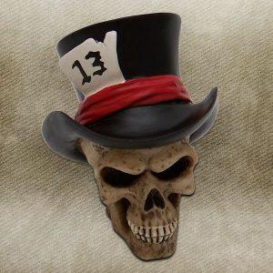13 Hatter Skull Custom Shift Knob and Topper