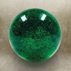 Green Sparkle Old Skool Custom Shift Knob with Metal Flake