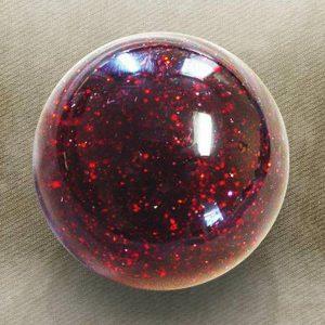 Red Sparkle Old Skool Custom Shift Knob with Metal Flake