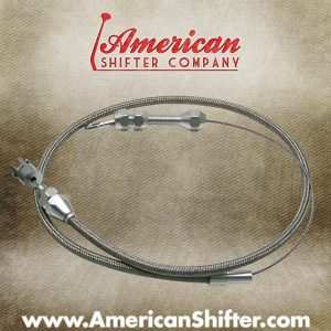 Stainless Steel Adjustable Tuned Port Throttle Cable