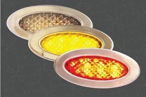 Billet Tri-Color LED Light with 2 Lens