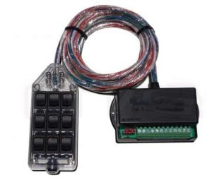 9-ROCKER Universal Air Ride Switch Controller – Clear